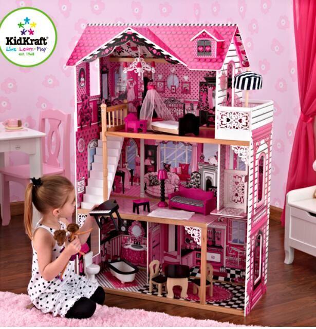 Из чего можно сделать кукольный домик для барби своими руками