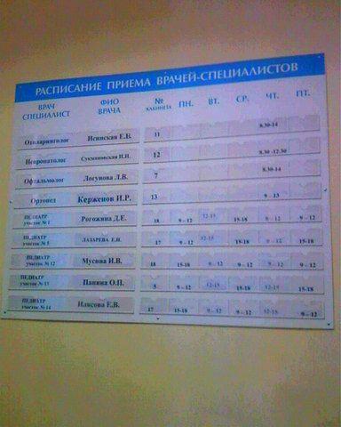 Киров регистратура областной больницы