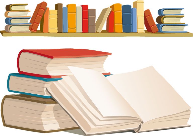 рисунки книг для оформления фотографиями