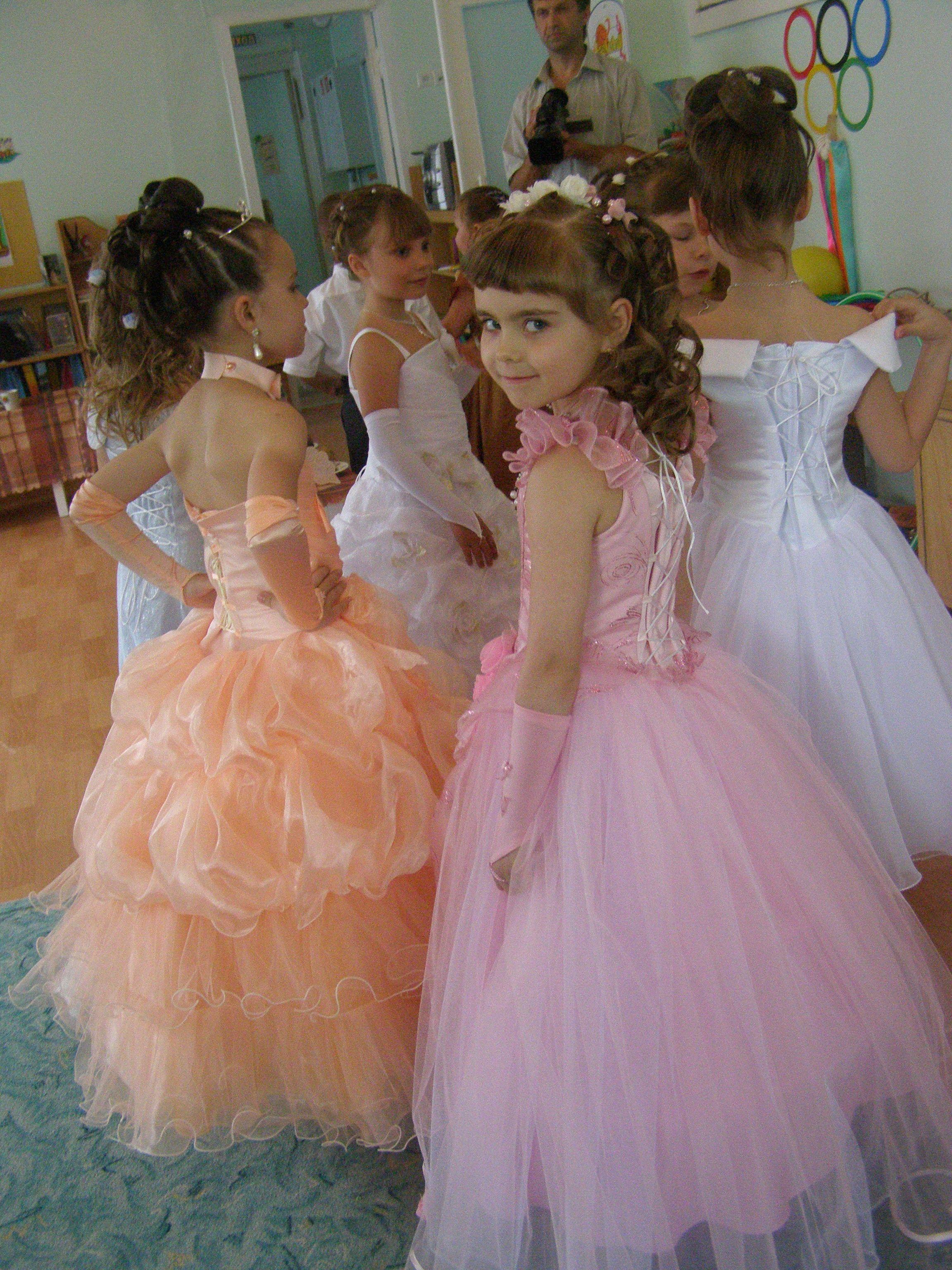 Прически детям в садик на выпускной